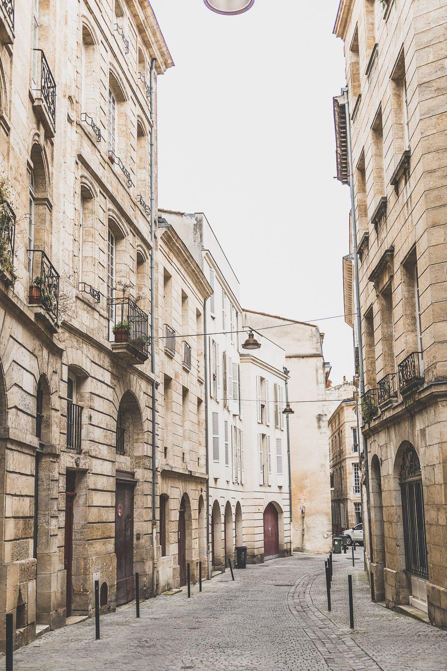 quartier St-Michel à Bordeaux