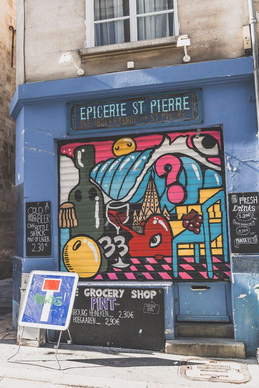 épicerie St-Pierre Bordeaux