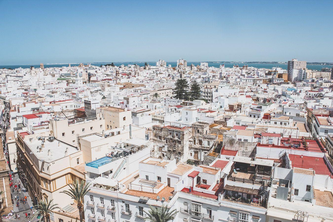 Ville d'Andalousie : Cadix