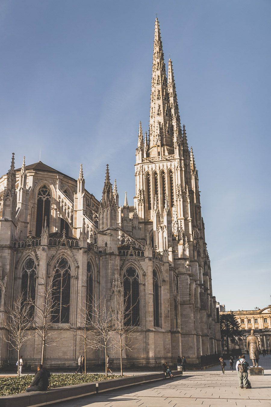 visiter la cathédrale Saint-André à Bordeaux