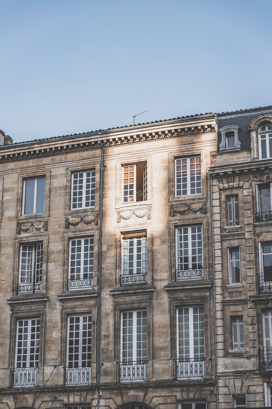 façade à Bordeaux