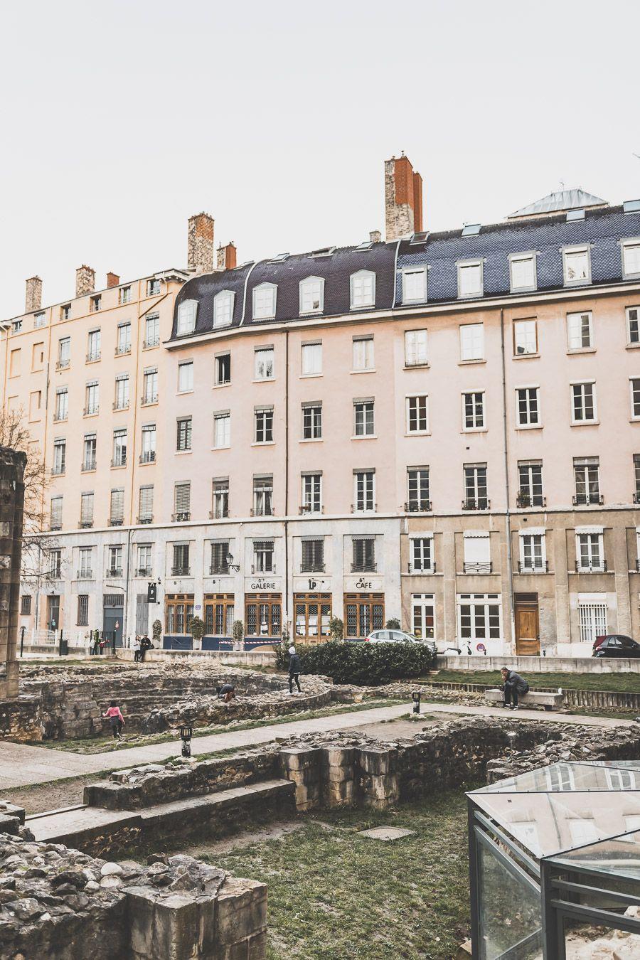 Jardin Archéologique du Vieux-Lyon