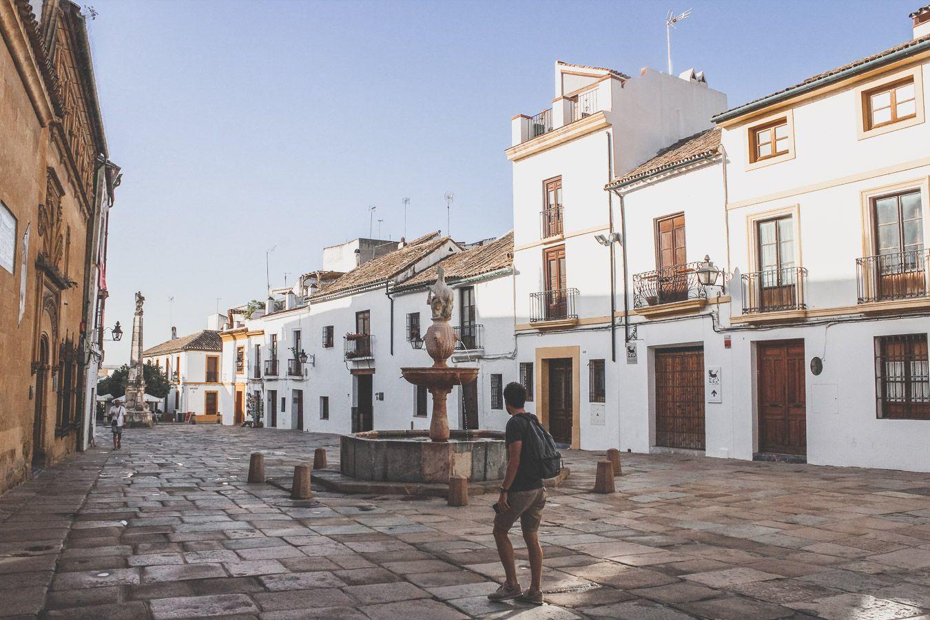 Place de Cordoue en Andalousie