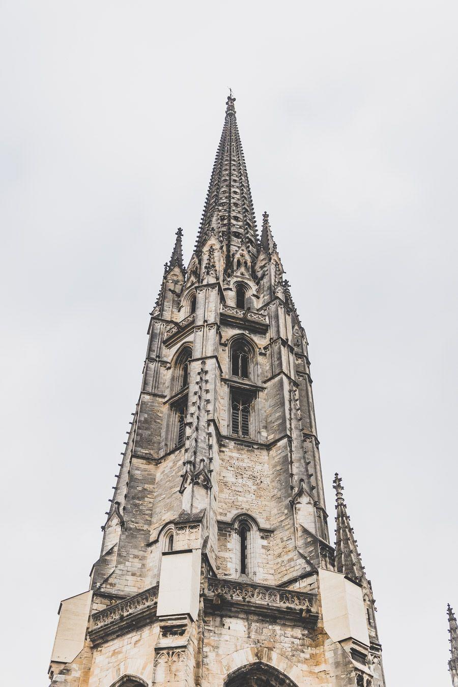 Visiter Bordeaux en 2 jours - la flèche St-Michel