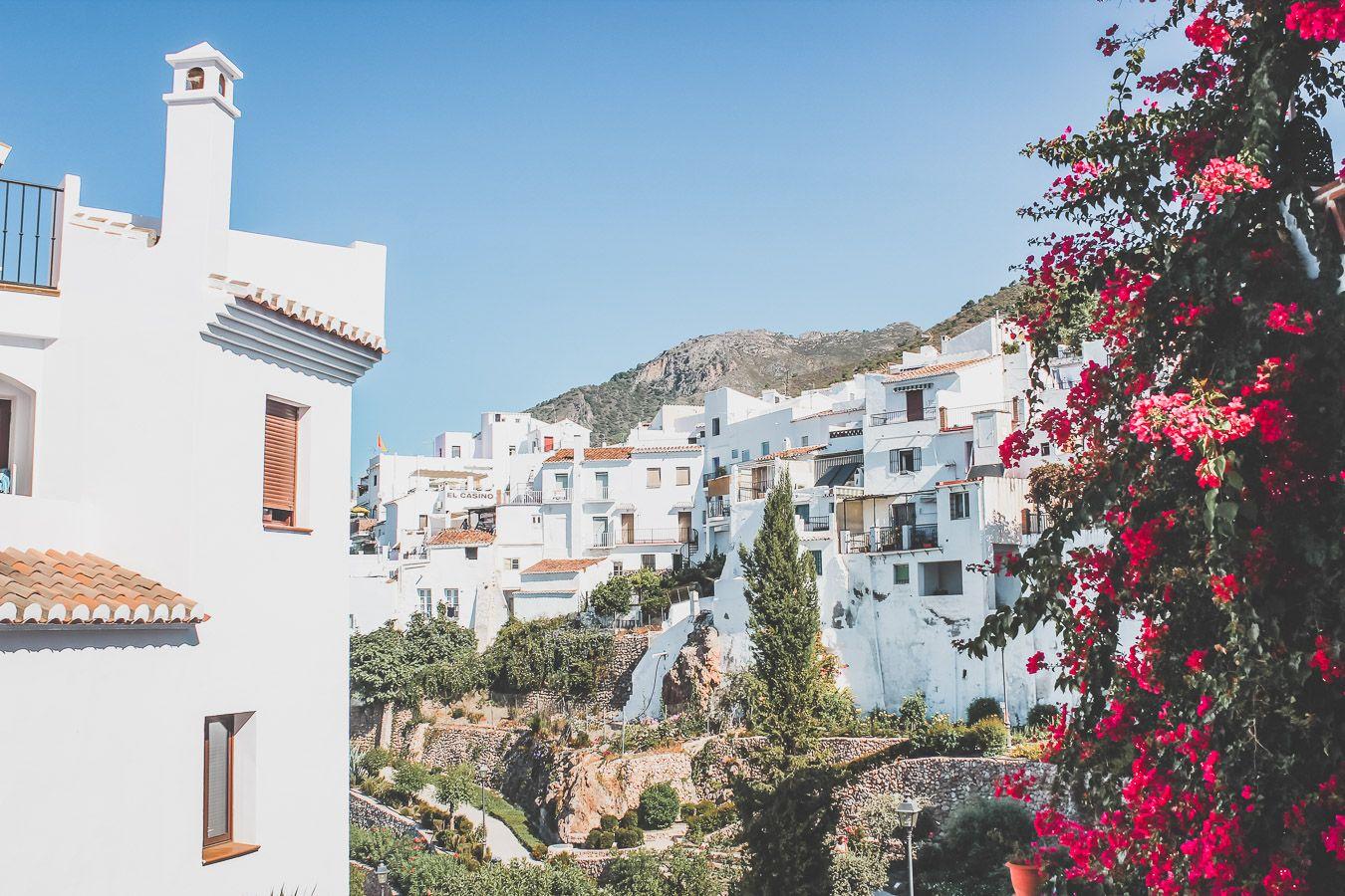 Frigiliana, village blanc à voir en Andalousie