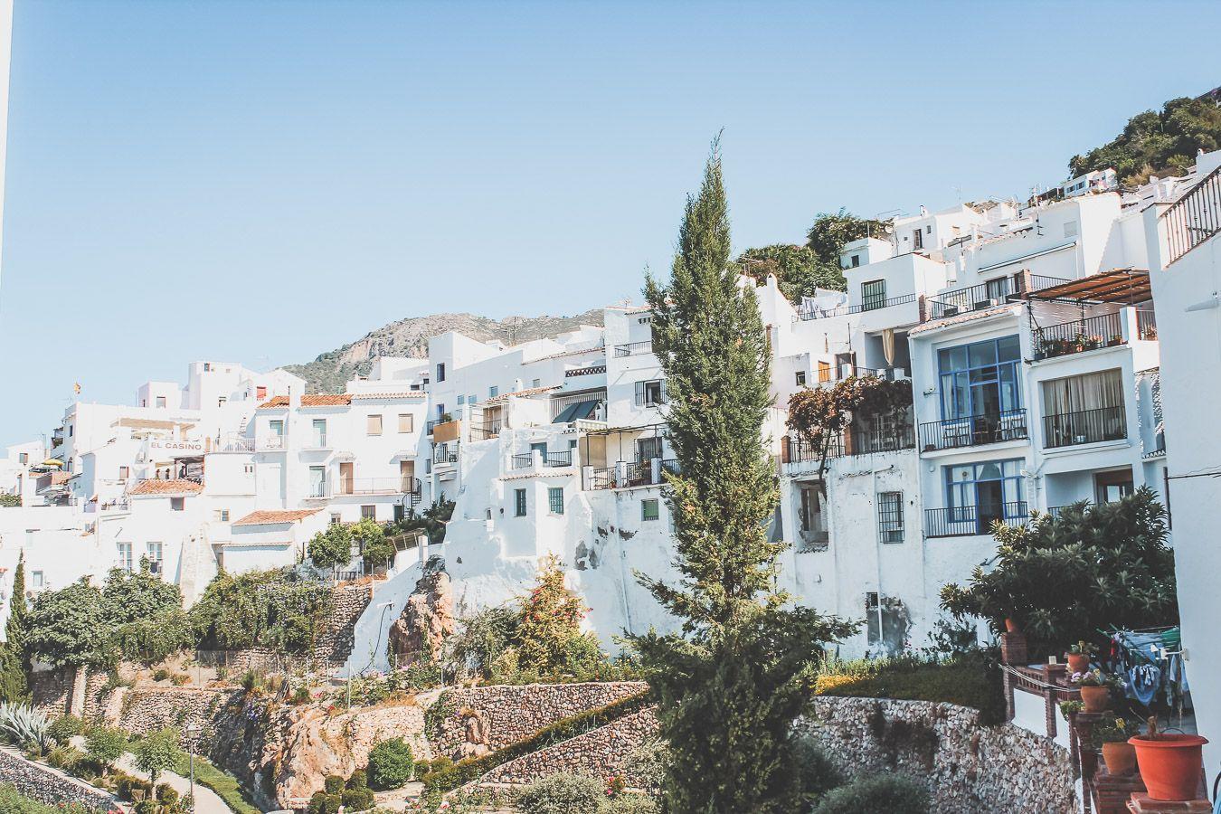 Village blanc en Andalousie : Frigiliana