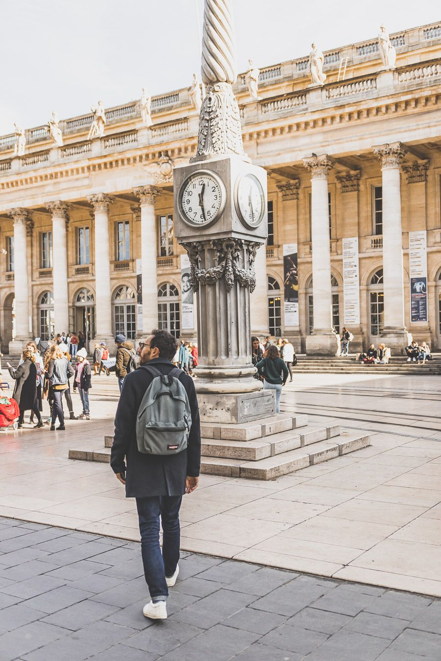 le Grand-Théâtre à Bordeaux