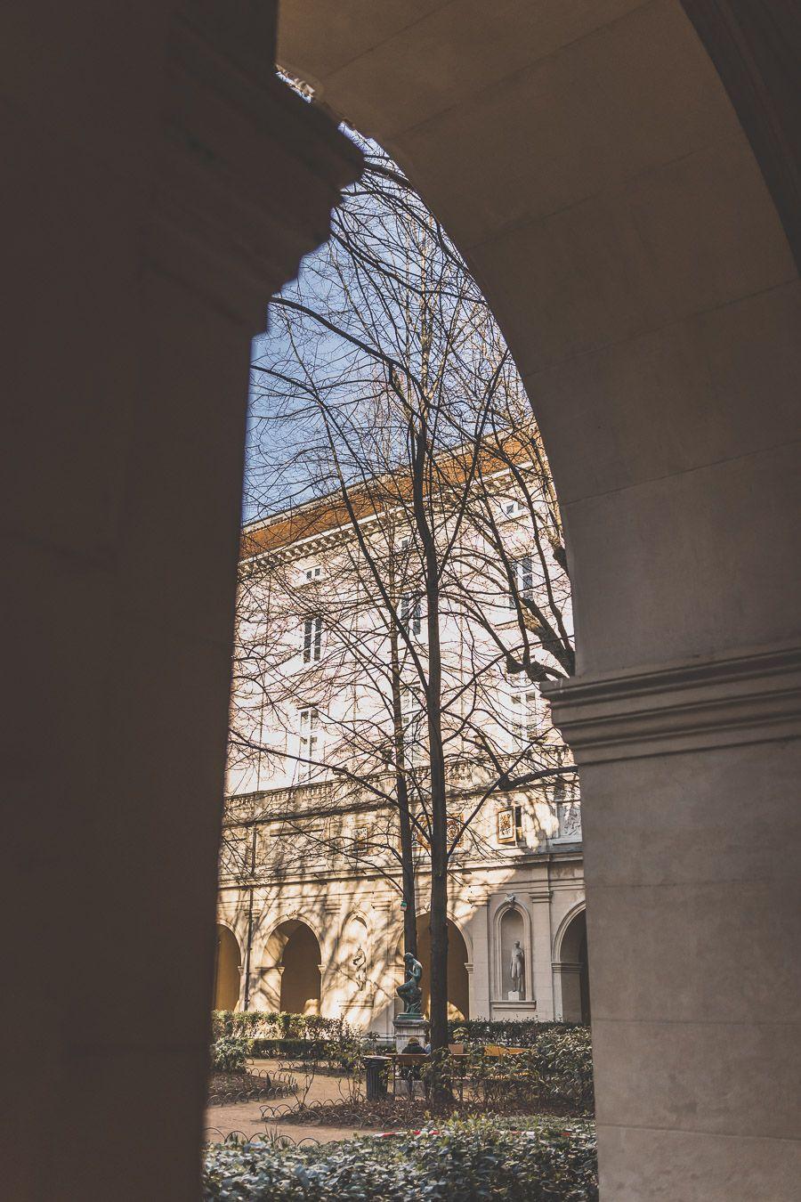 Jardin du Palais Saint-Pierre à Lyon