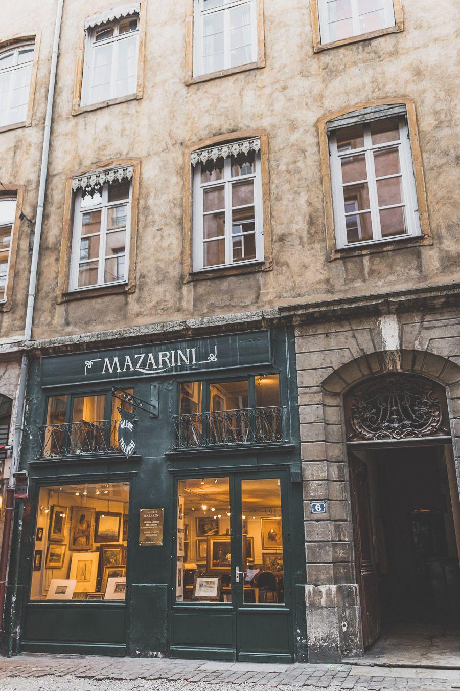 magasin à Lyon