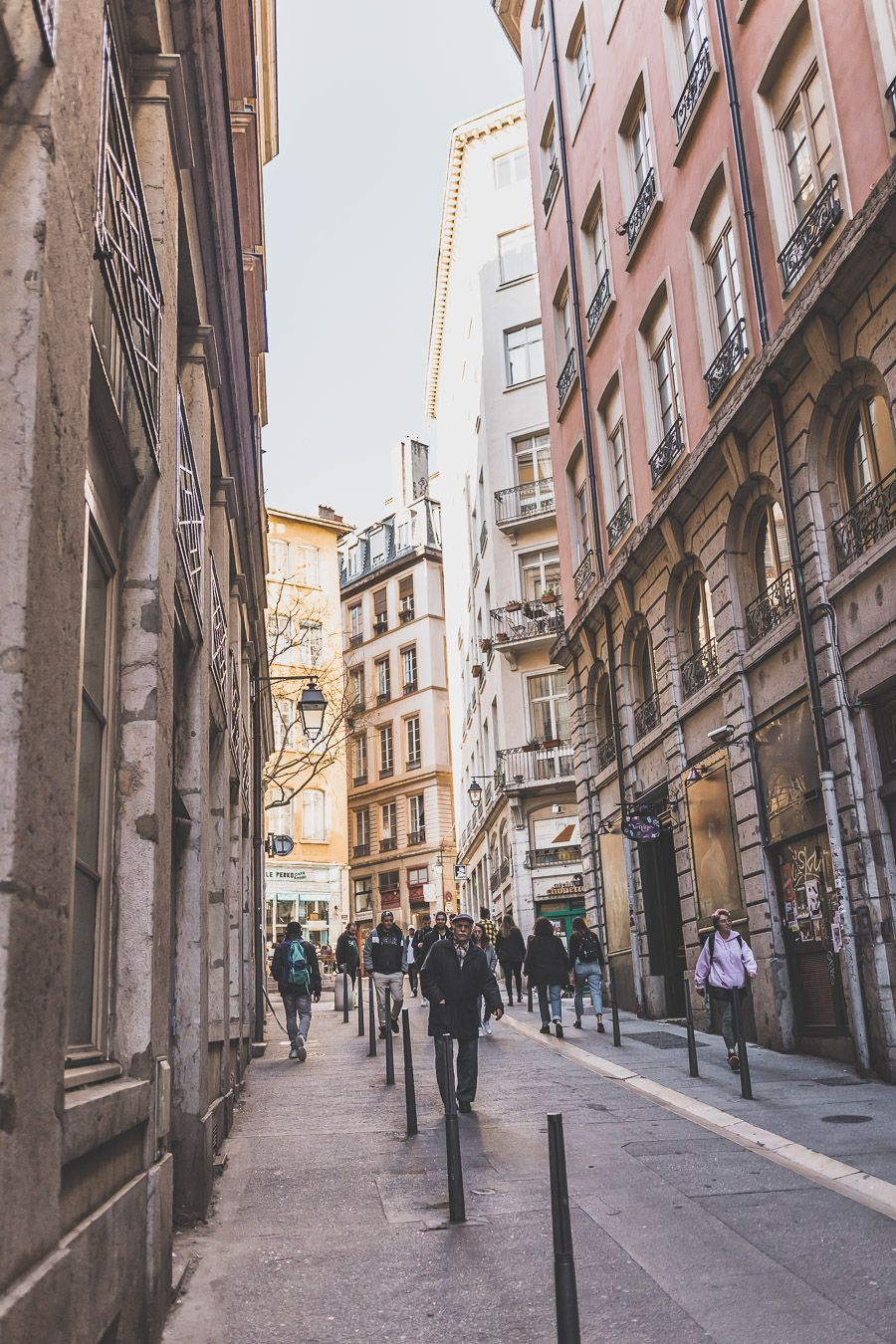 jolie ruelle de Lyon