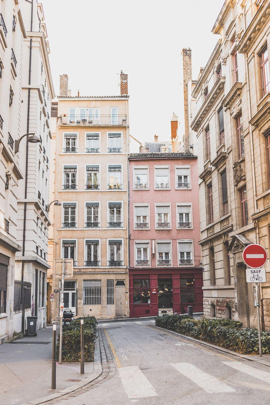 façades colorées de Lyon