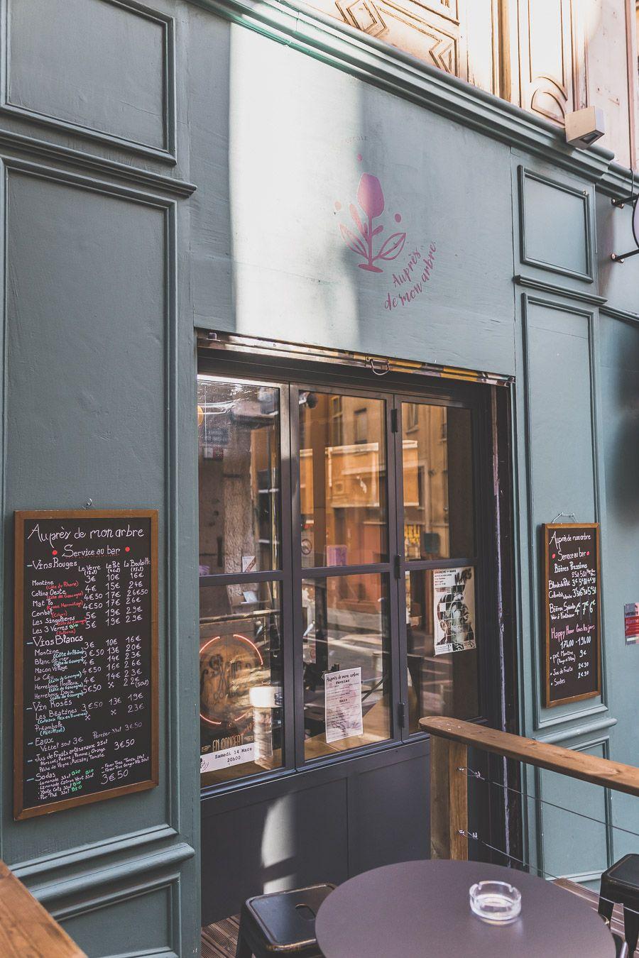restaurant de la Croix-Rousse à Lyon