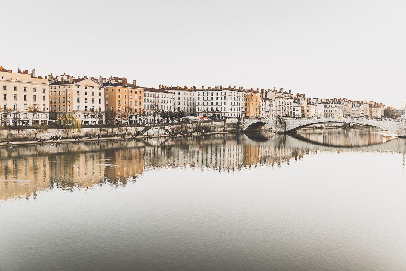 Les Berges de la Saône à Lyon