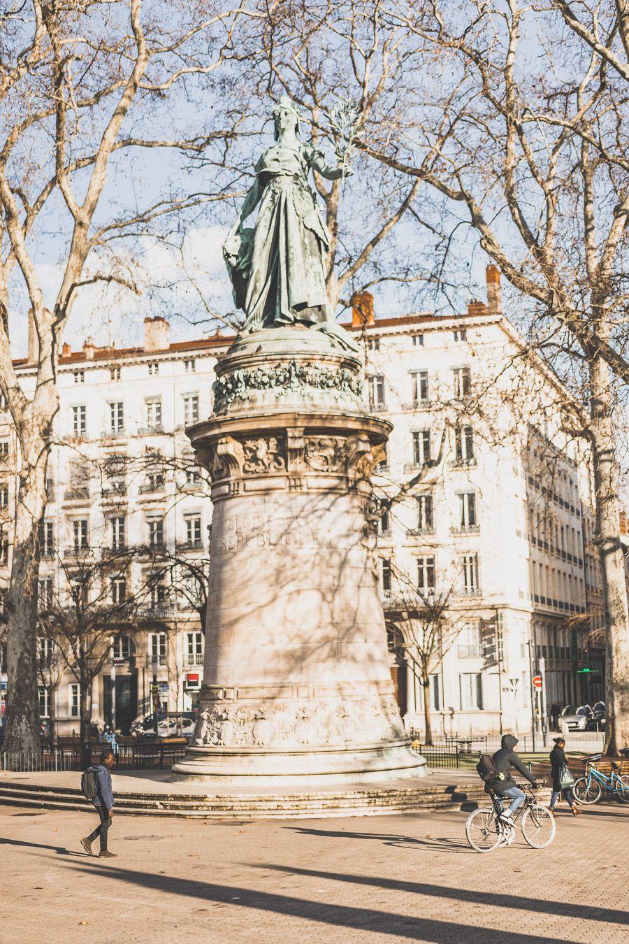 La Place Carnot de Lyon