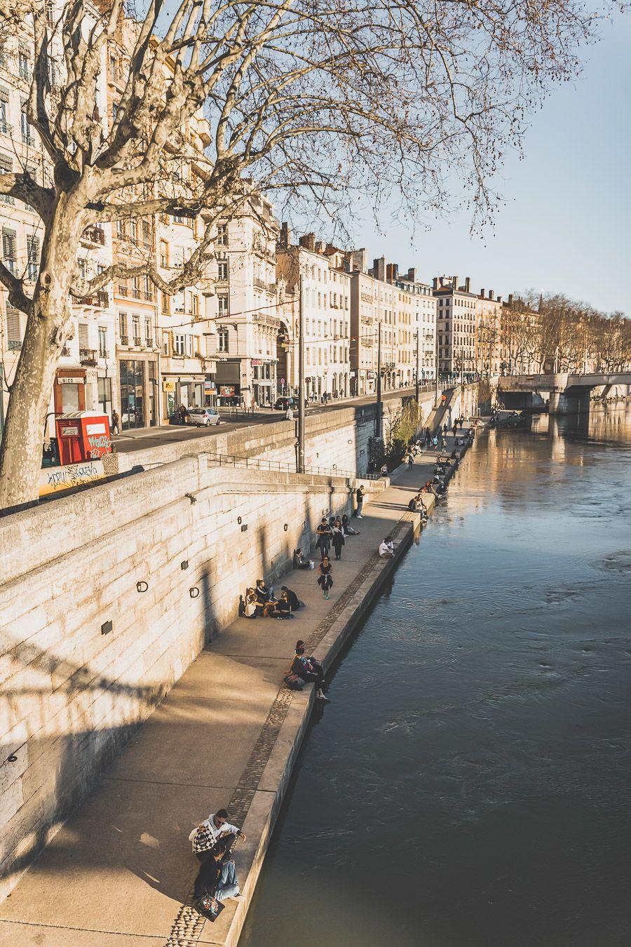 Balade sur Quais de Saône