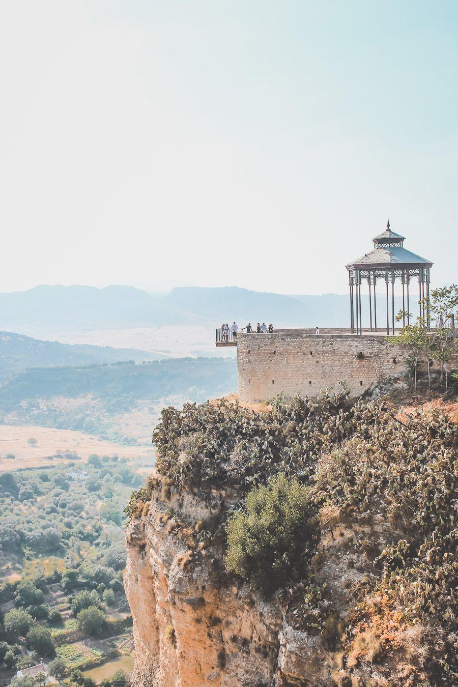 Ville de Ronda en Andalousie