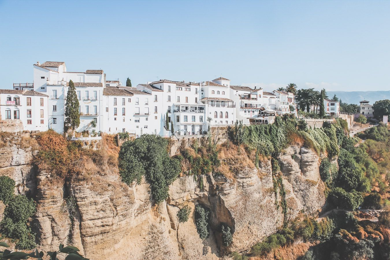 Ronda, village blanc en Andalousie