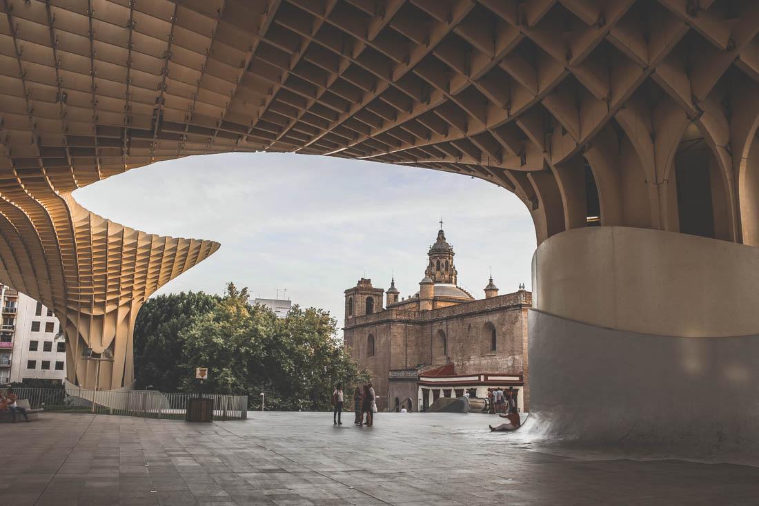 Las Setas en Sevilla