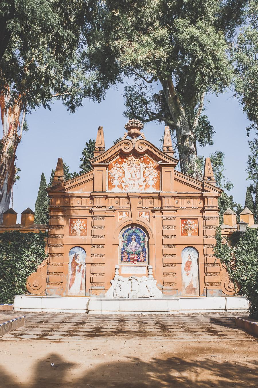 Le Parc Maria Luisa à Séville