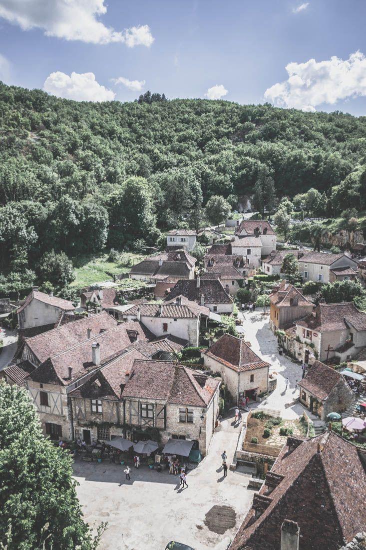 vue sur Saint-Cirq-Lapopie