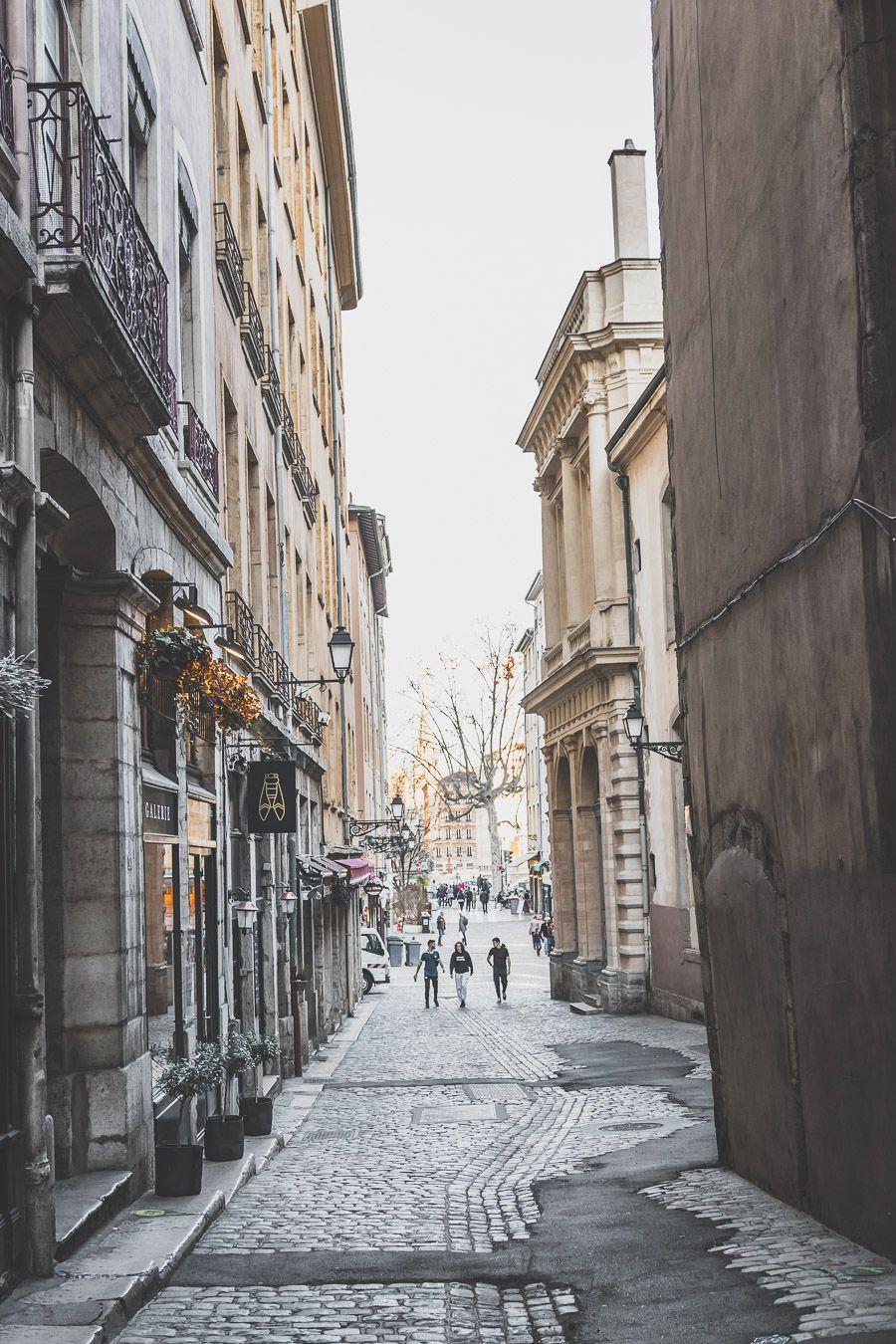 Ruelles du Vieux-Lyon