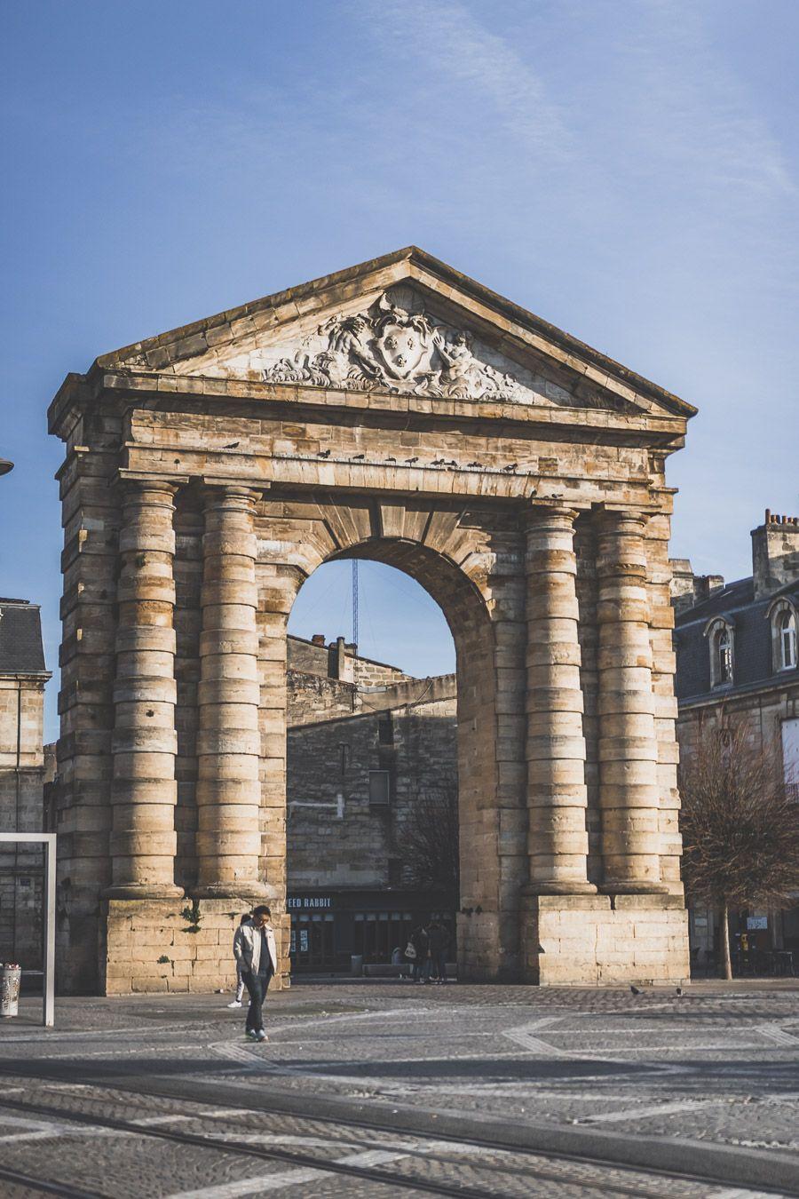 Visiter Bordeaux en 2 jours - la place de la Victoire