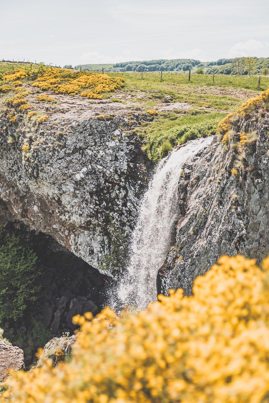 la Cascade du Déroc en Lozère