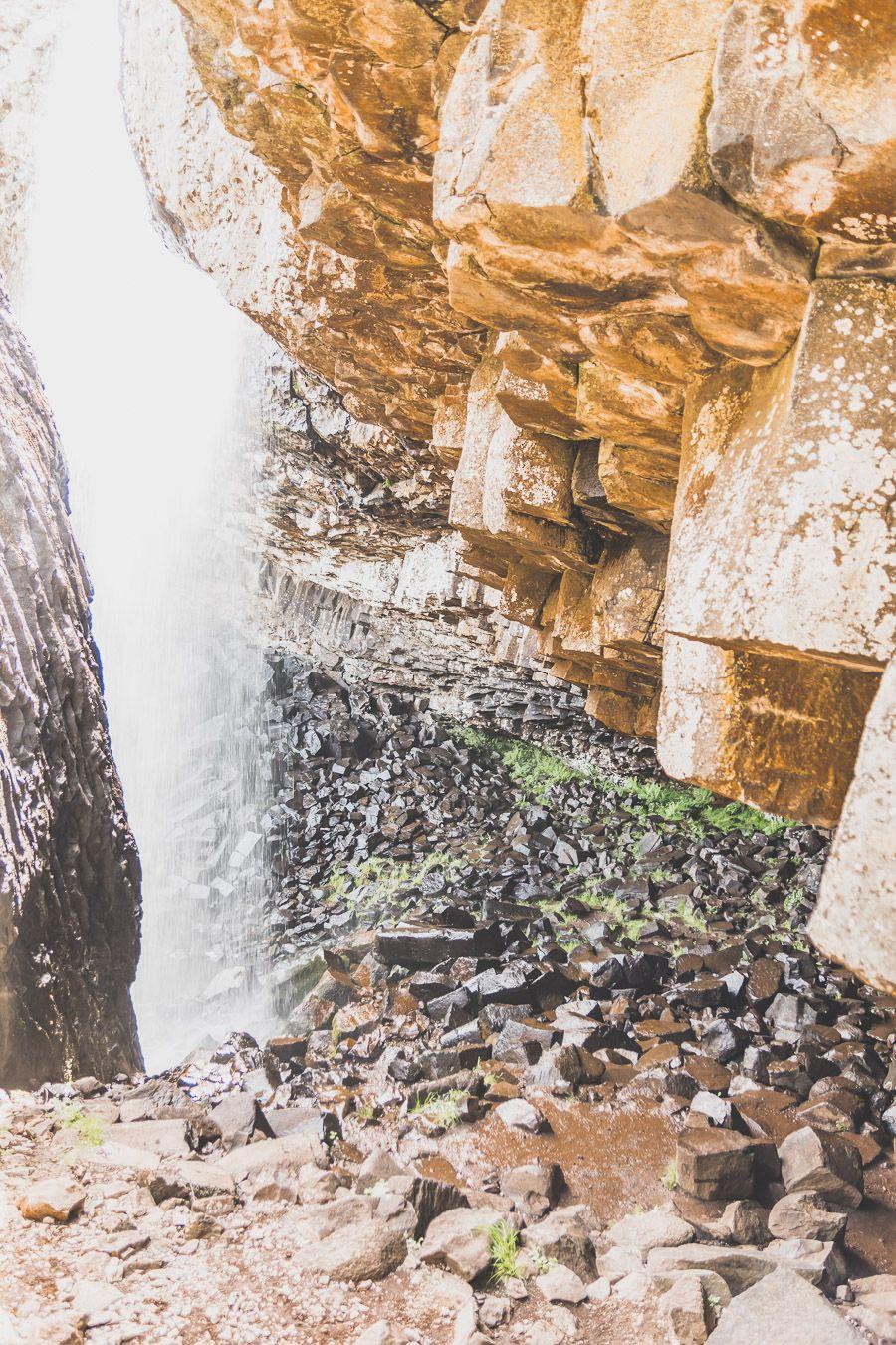 Cascade du Déroc en Lozère