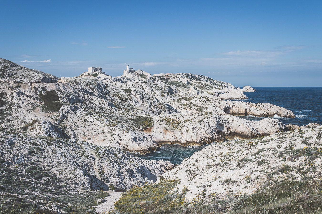île Pomègues à Marseille