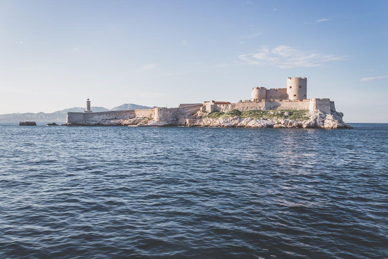le château d'if à Marseille