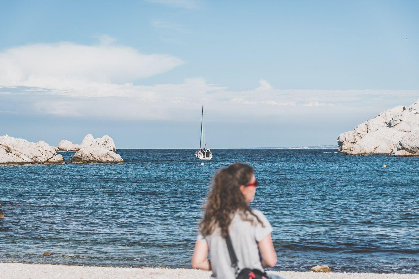 Calanques marseillaises sur les Iles du Frioul