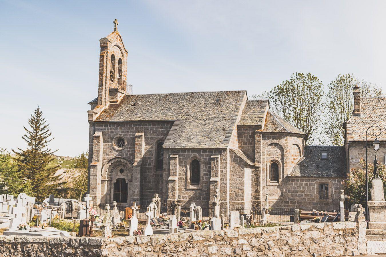 Eglise de Marchastel, Lozère, 48.