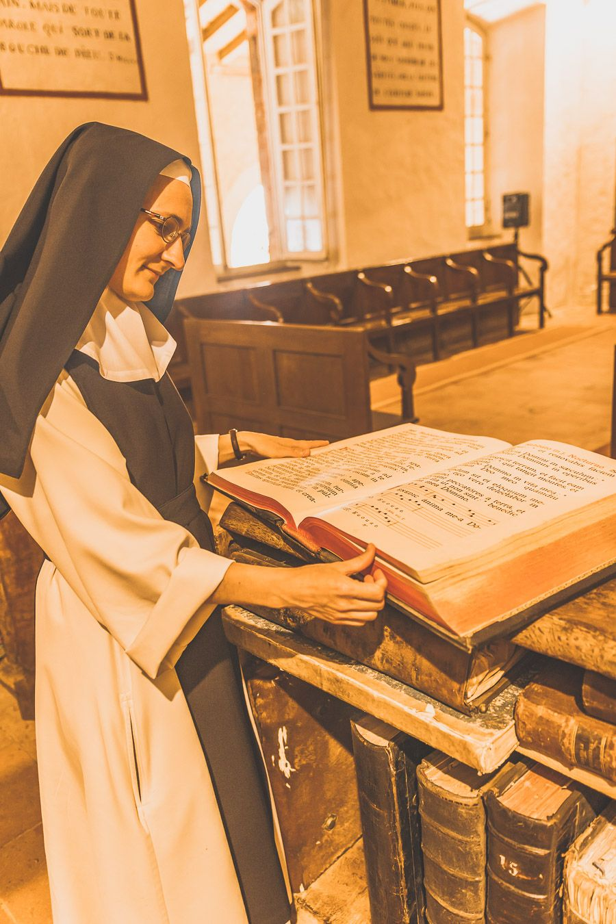 Visite d'une abbaye