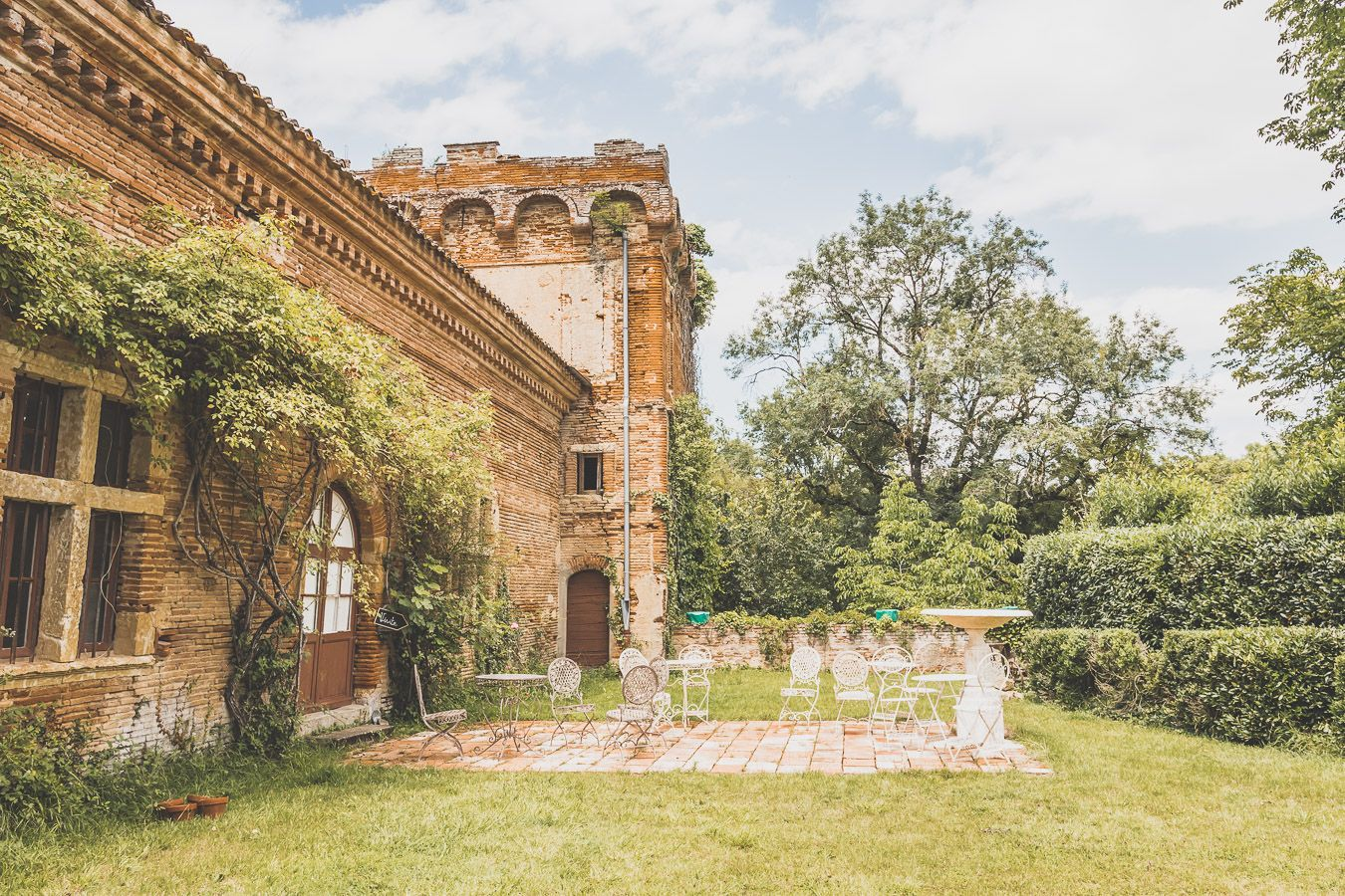 Château de Caumont dans le Gers