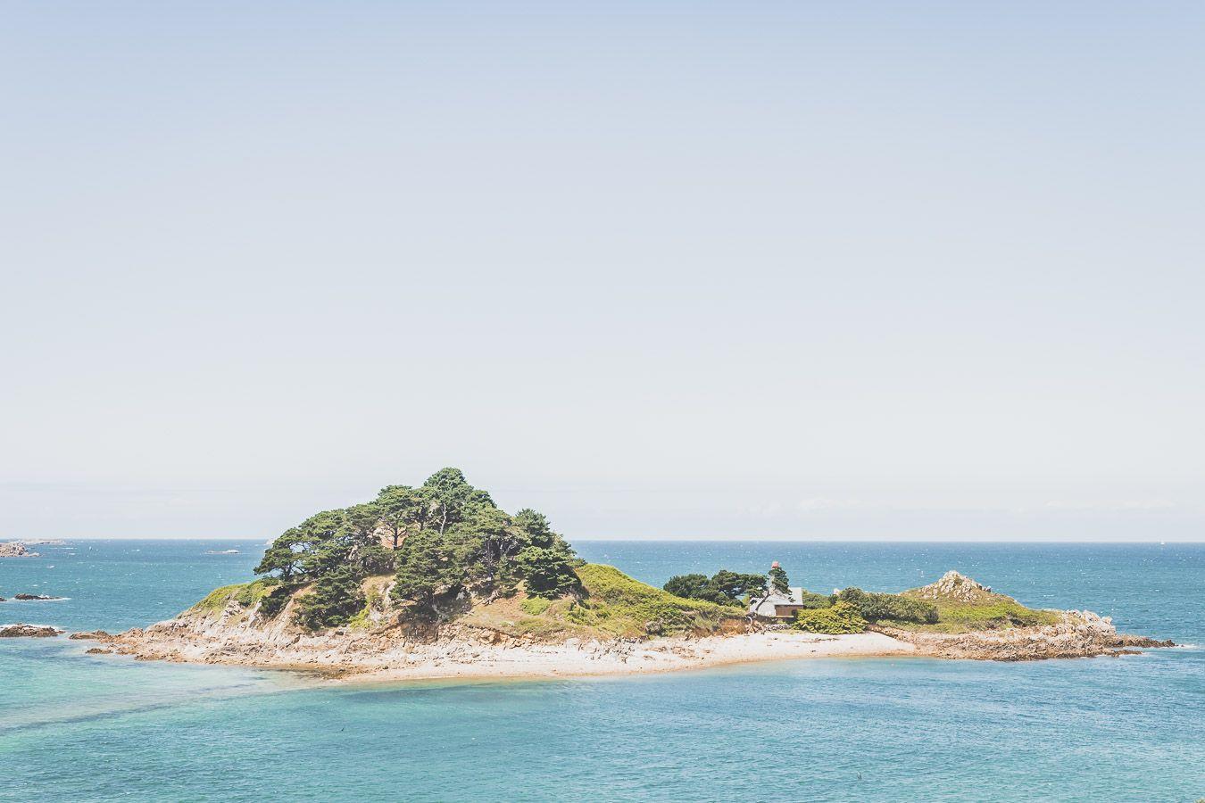 Ile Stérec, un paradis dans le Finistère