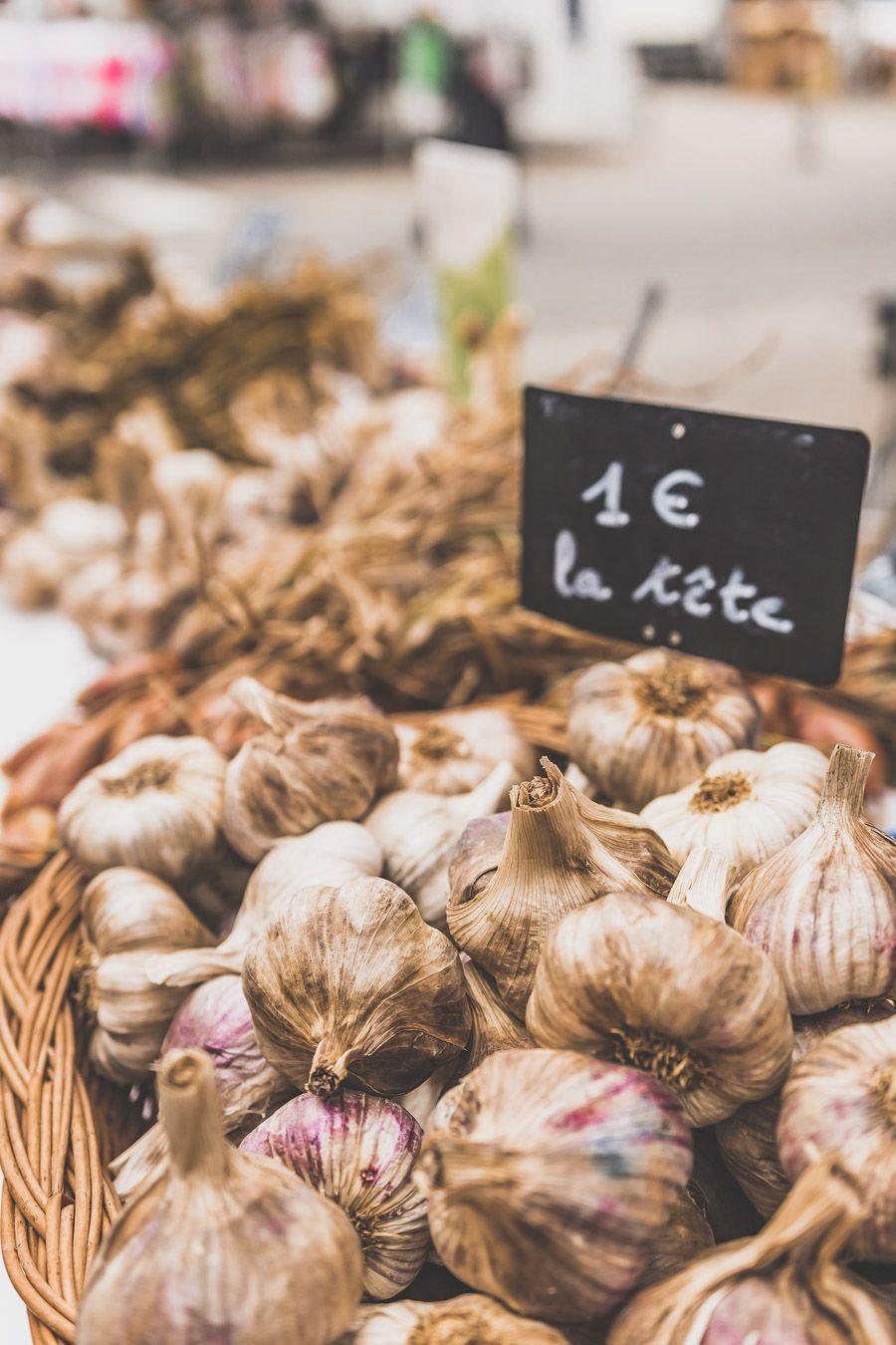 Ail au marché de l'Isle-Jourdain