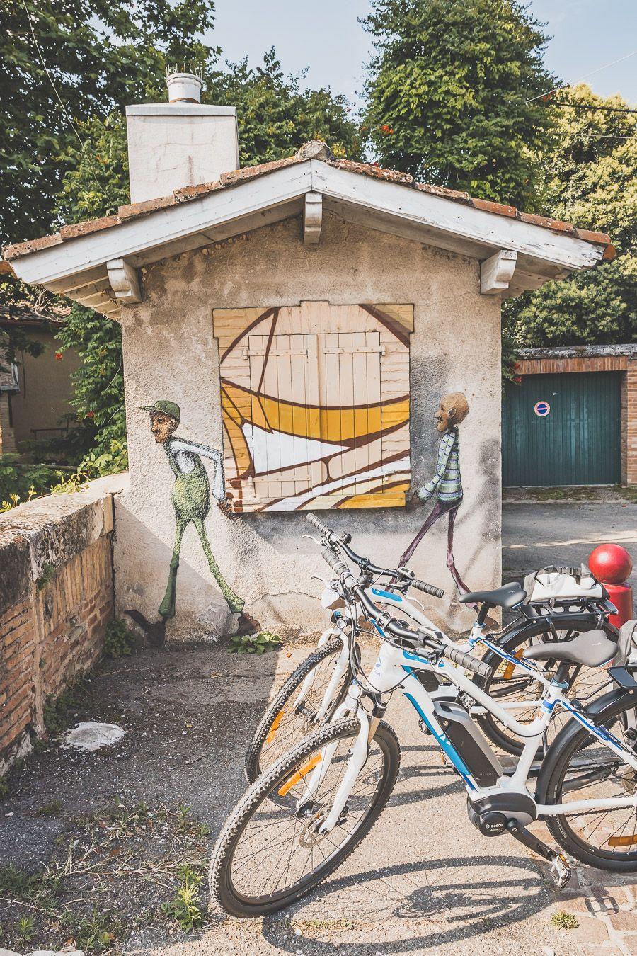 street art dans le Gers