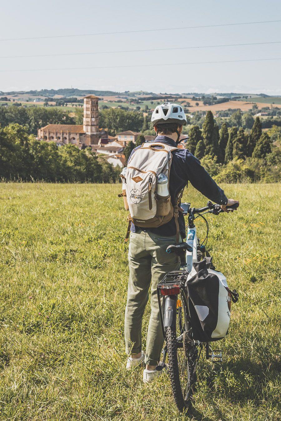 Faire du vélo électrique dans le Gers