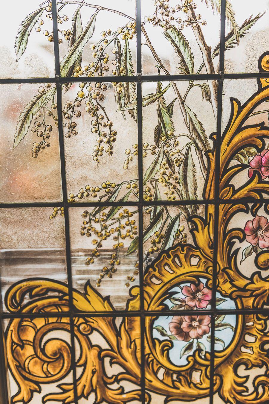 Vitraux de la Maison Claude Augé à l'Isle-Jourdain