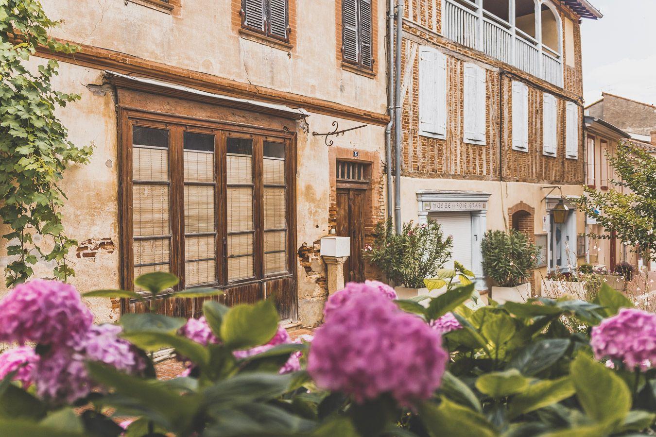 Village de Samatan dans le Gers