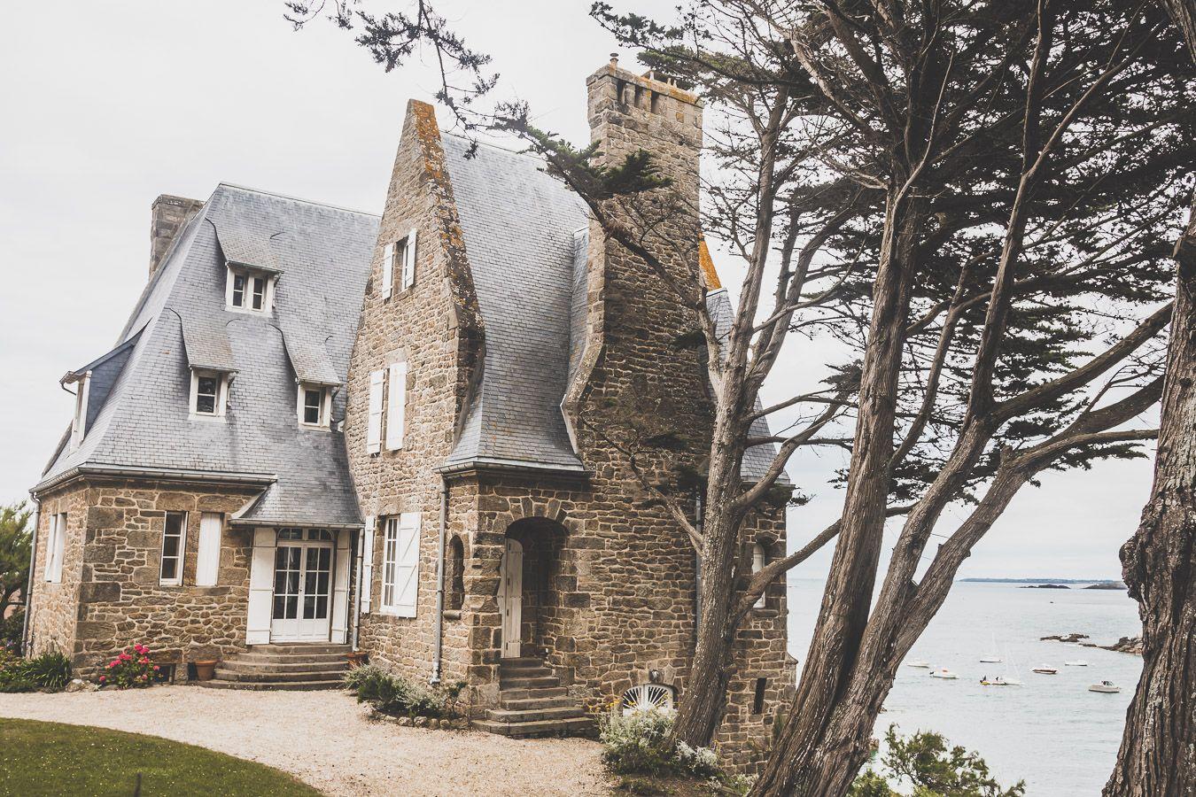 Pointe du Décollé, Saint-Lunaire, région de Saint-Malo