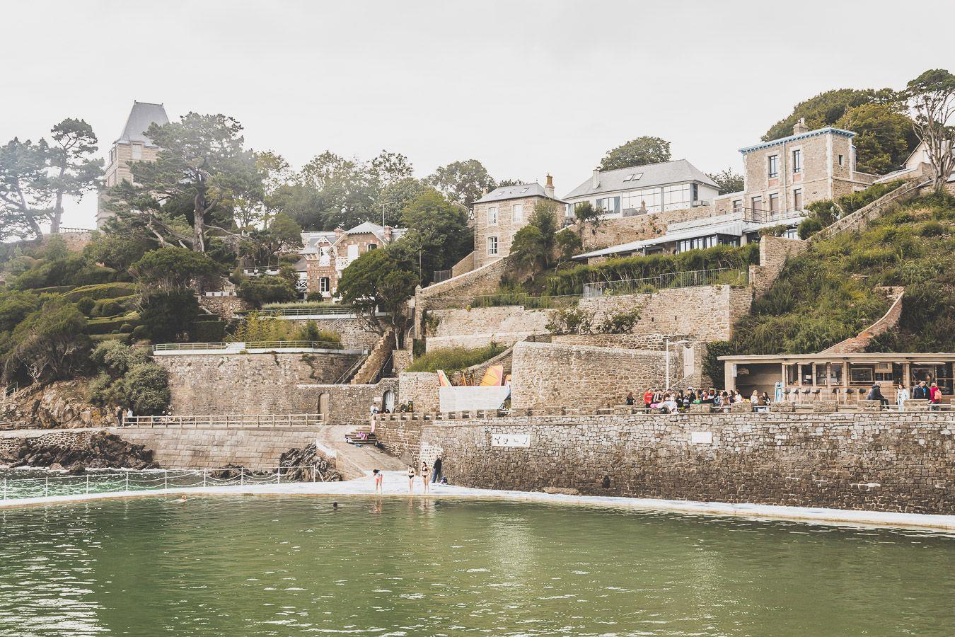 Ville de Dinard en Bretagne