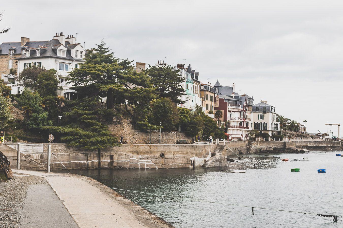 Promenade du Clair de Lune à Dinard
