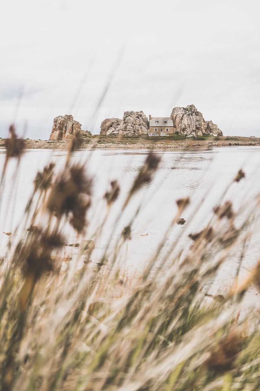 Sentier du littoral en Bretagne