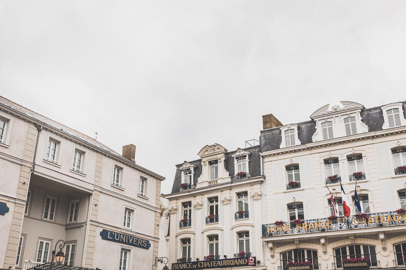 Façades de Saint-Malo