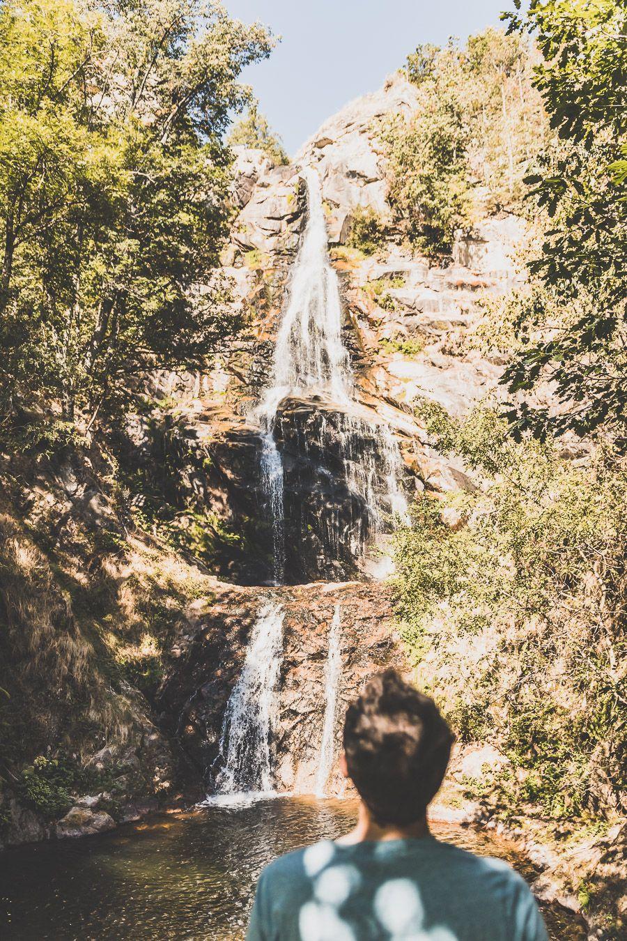 L'une des plus belles cascades de Lozère : la cascade de Runes