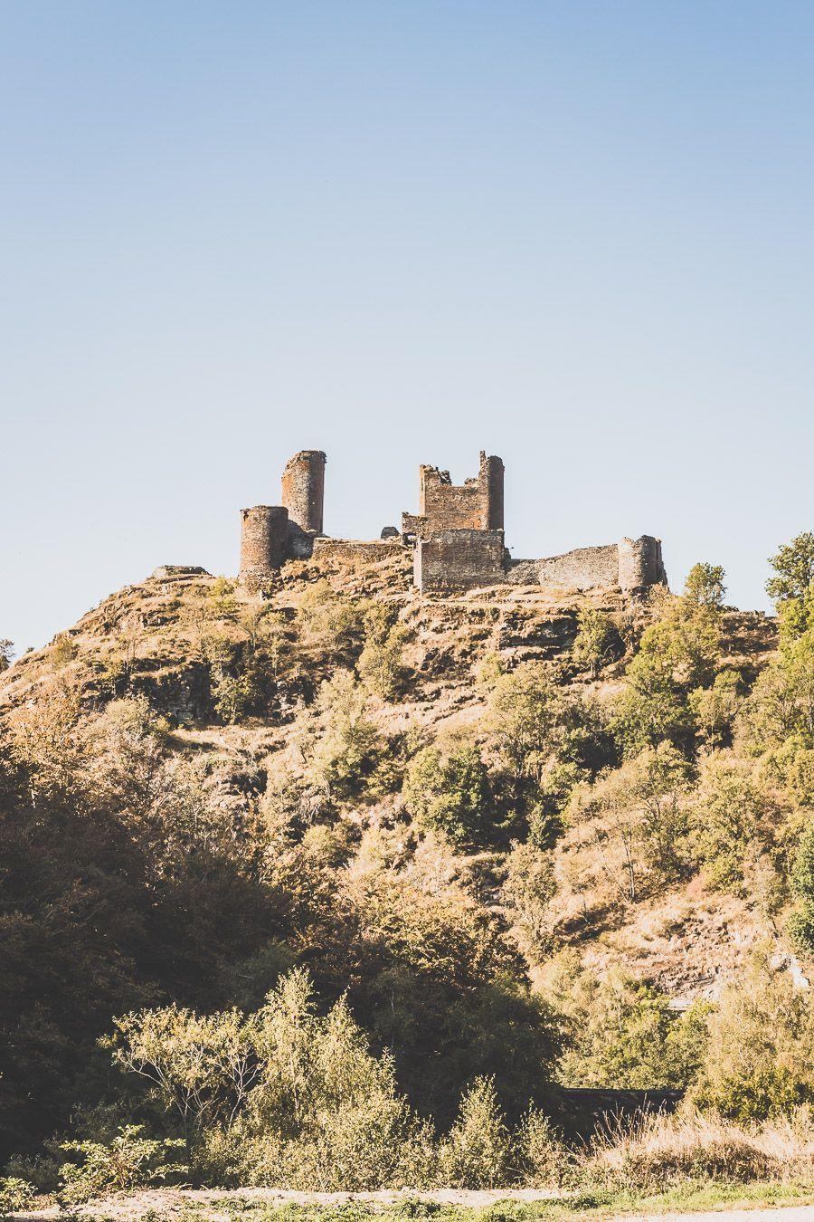 Le château de Saint-Julien-du-Tournel
