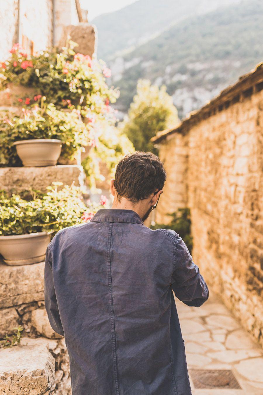 Visite d'un village au milieu des Gorges du Tarn