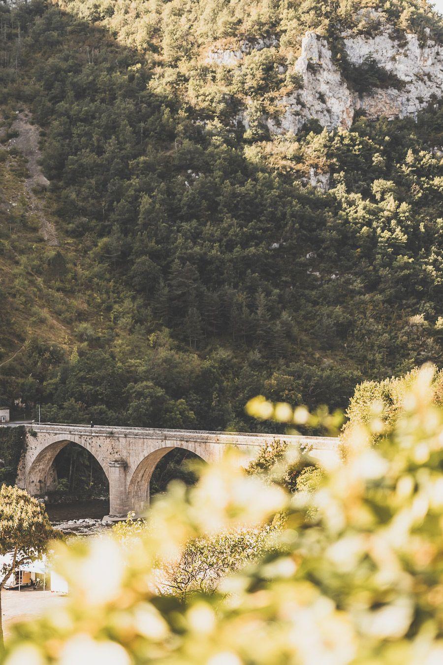 Pont au-dessus du Tarn