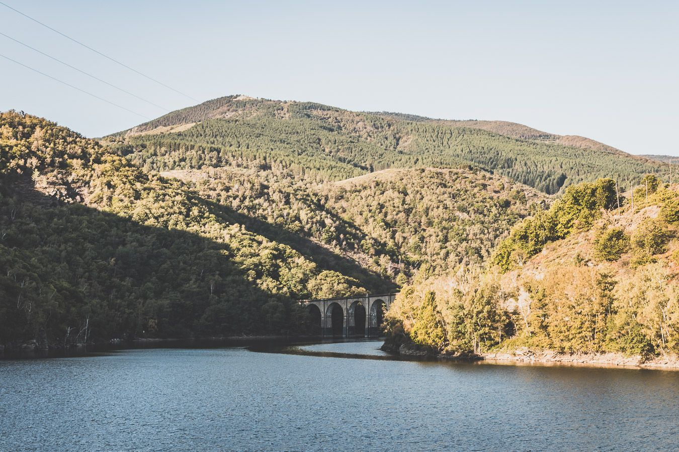 Week-end en Lozère : le lac de Villefort